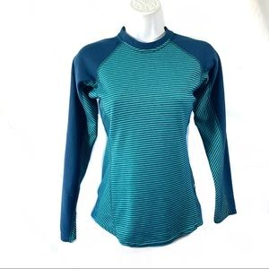Patagonia Top Sz XS Long Sleeve Fitted Capilene